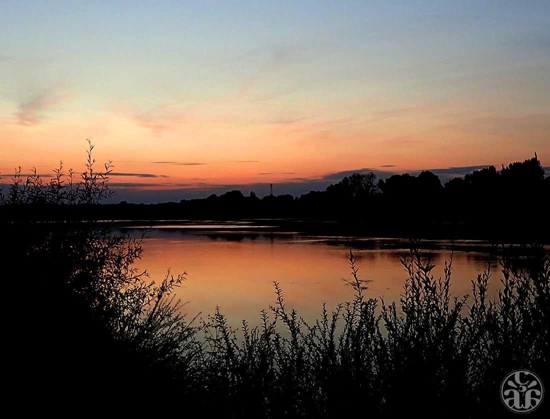 Crépuscule sur Loire