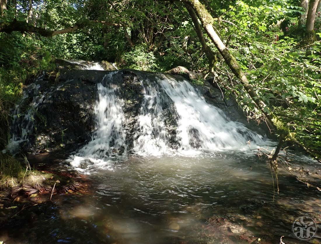 Une des cascades des Saliens