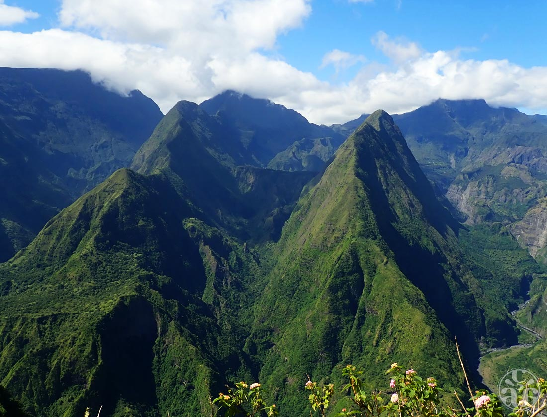 Randonnées de Dos d'Ane, vue sur Mafate