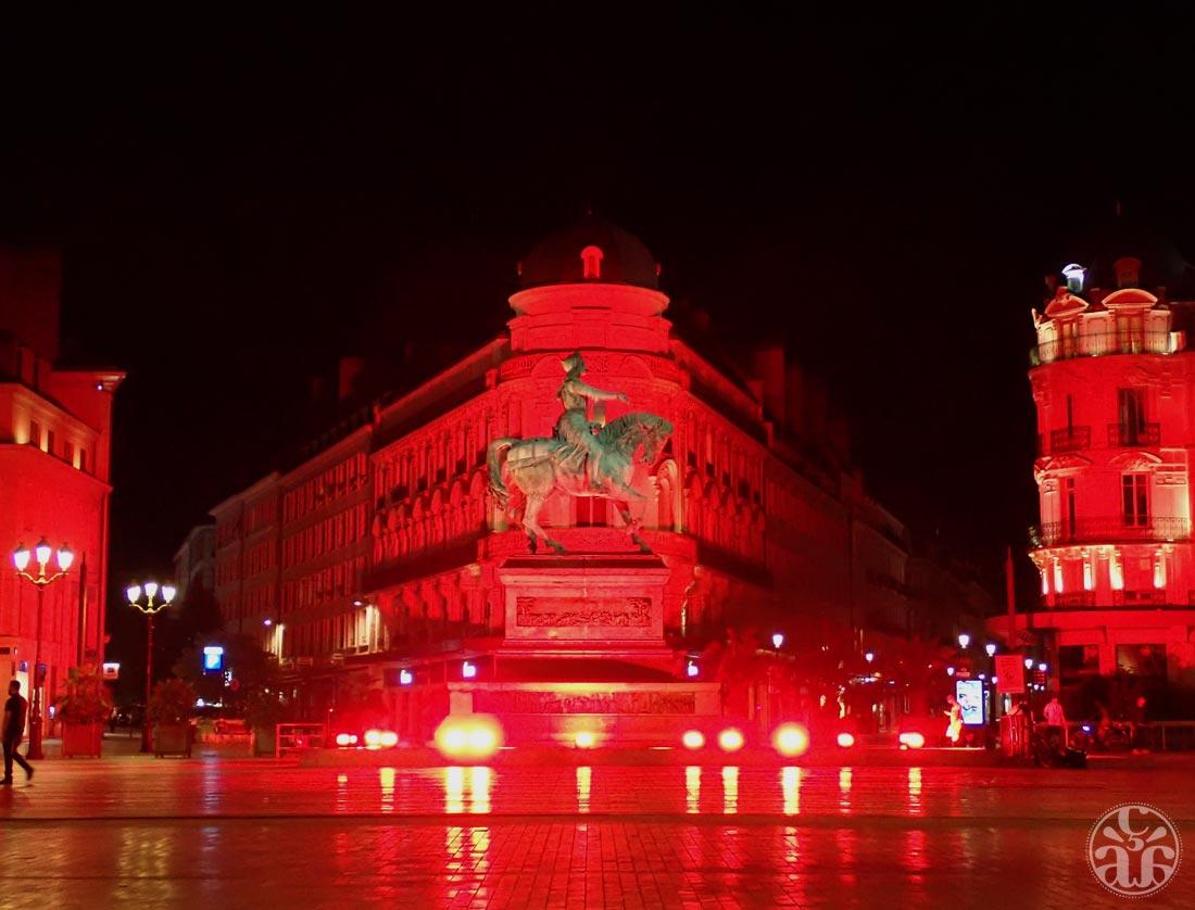 Place du Martroi de nuit