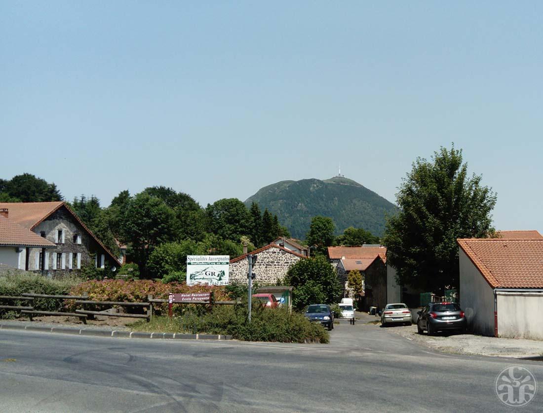 Le Puy de Dôme depuis Laschamps
