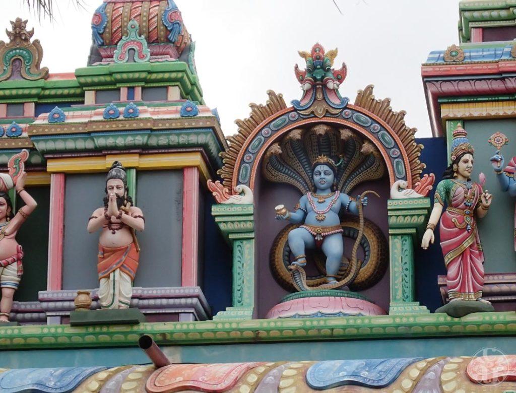 Devanture du temple
