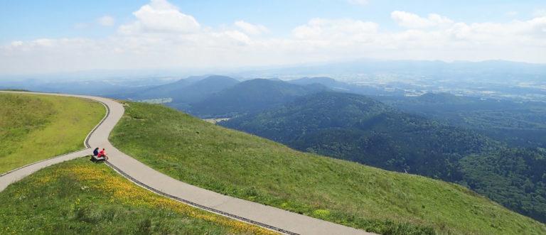 <span class='day'>Boucle des Dômes</span> Jour 1 – Ascension du Puy de Dôme et étape à Mazayes